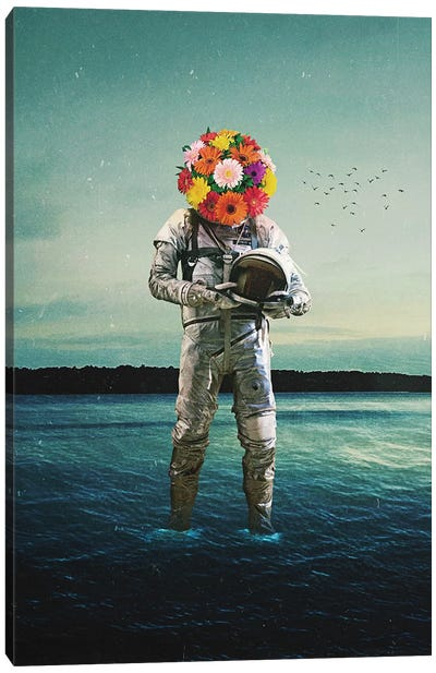 Forget Why I Came Here Canvas Art Print