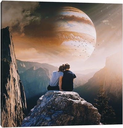 A Weird Planet Canvas Art Print