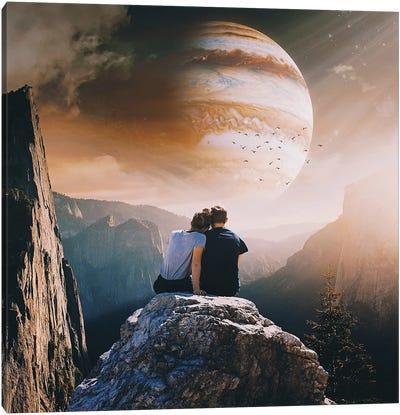 A Weird Planet Canvas Art Print