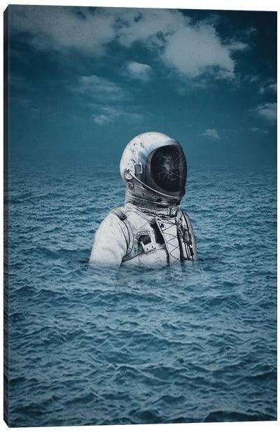 Lost At Sea Canvas Art Print