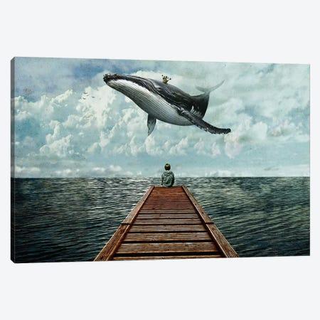 Pier Canvas Print #SML64} by Seamless Art Print