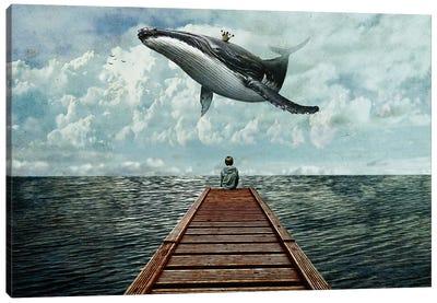 Pier Canvas Art Print