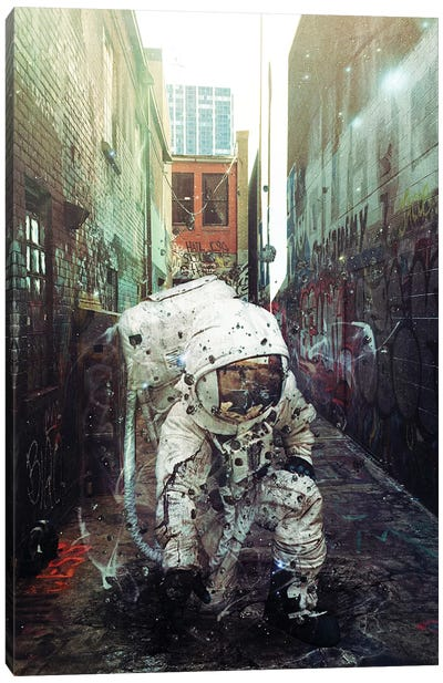 Alley Canvas Art Print