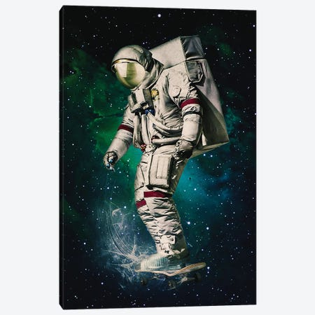 Space Ride 3-Piece Canvas #SML73} by Seamless Canvas Art Print