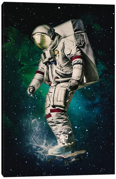 Space Ride Canvas Art Print