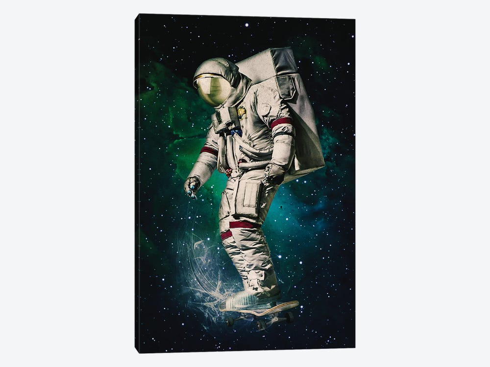 Space Ride by Seamless 1-piece Canvas Art Print