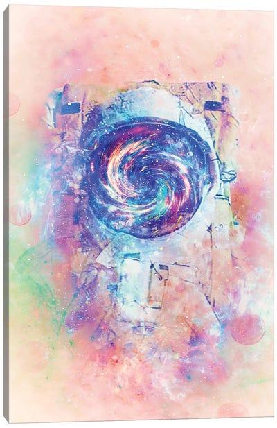 The Ciclonaut Canvas Art Print