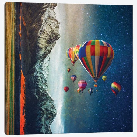 The Contradictors  Canvas Print #SML81} by Seamless Canvas Wall Art