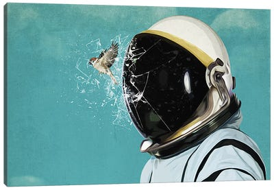 The Escape Canvas Art Print