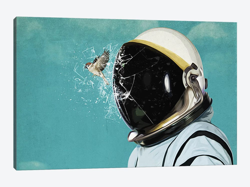 The Escape by Seamless 1-piece Art Print