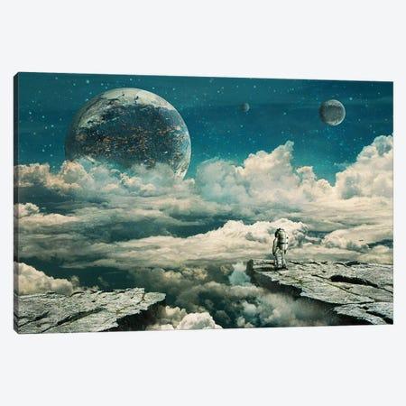 The Explorer Canvas Print #SML85} by Seamless Canvas Art Print
