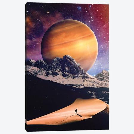 The Long Walk Canvas Print #SML90} by Seamless Art Print
