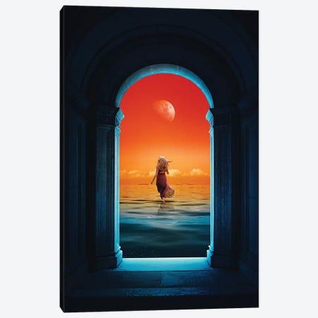 The Runaway Canvas Print #SML92} by Seamless Art Print