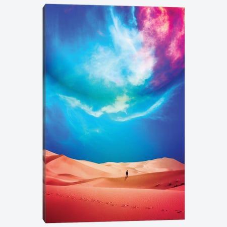 The Vast Desert Canvas Print #SML96} by Seamless Canvas Wall Art
