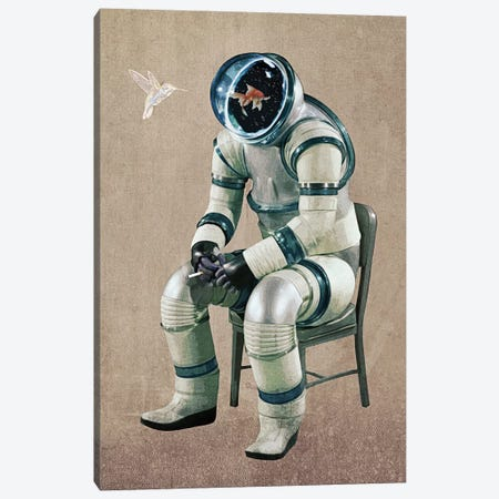 The Vicious Canvas Print #SML97} by Seamless Canvas Wall Art