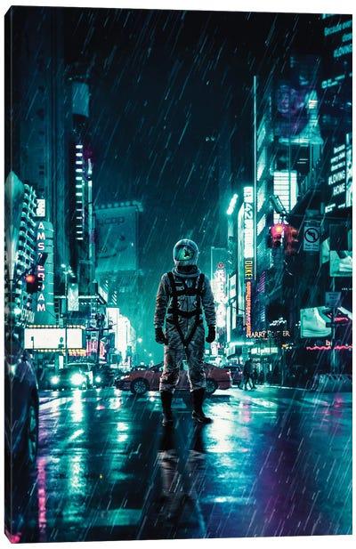 Another Rainy Night Canvas Art Print