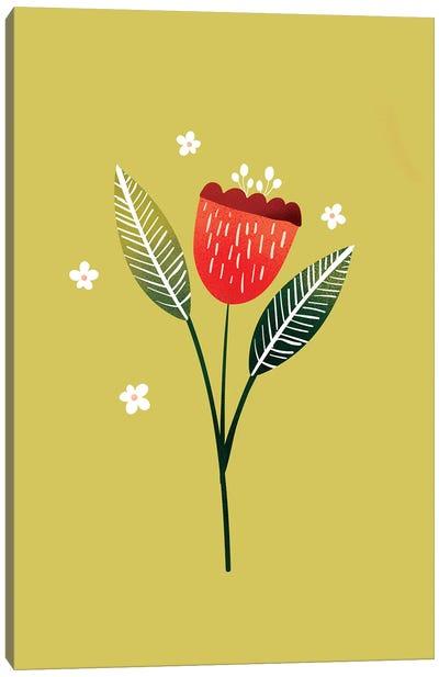 Just A Pretty Flower I Canvas Art Print