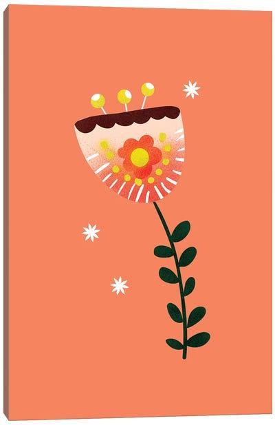 Just A Pretty Flower II Canvas Art Print