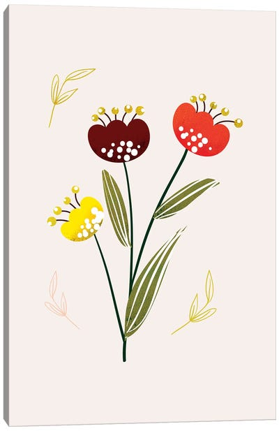 Just A Pretty Flower III Canvas Art Print