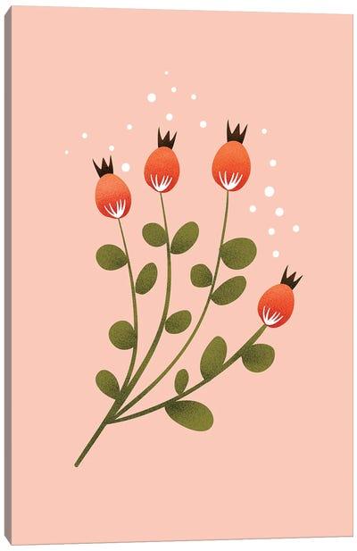 Just A Pretty Flower IV Canvas Art Print