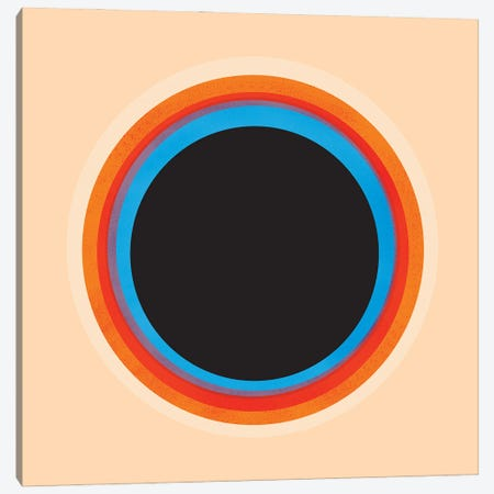 Look At The Circle Canvas Print #SMM117} by Show Me Mars Canvas Art Print
