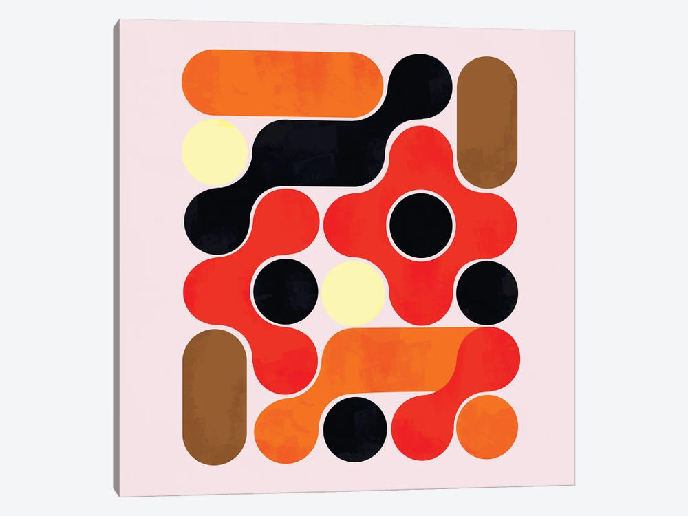 Mid Century Abstract VII by Show Me Mars 1-piece Art Print