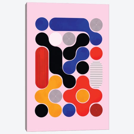 Mid Century Abstract VIII Canvas Print #SMM130} by Show Me Mars Canvas Art