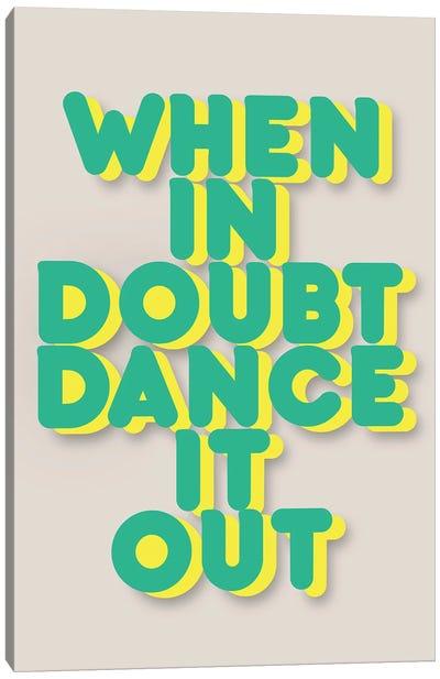 Dance It Out II Canvas Art Print