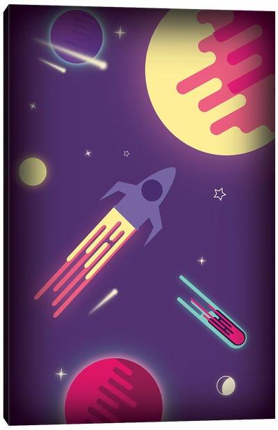 Fantasy Galaxy Canvas Art Print