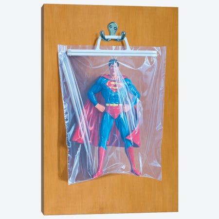 Clark Kent No. 2 Canvas Print #SMN10} by Simon Monk Canvas Art Print