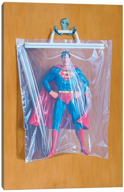 Clark Kent No. 2 Canvas Art Print