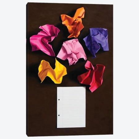 Flower Painting No. 1 Canvas Print #SMN15} by Simon Monk Canvas Art