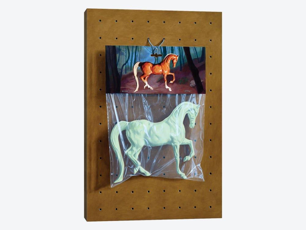 Ghost Horse Bag by Simon Monk 1-piece Canvas Print