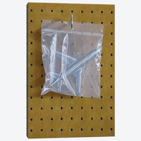 Aeroplane Bag Canvas Print #SMN1} by Simon Monk Canvas Print