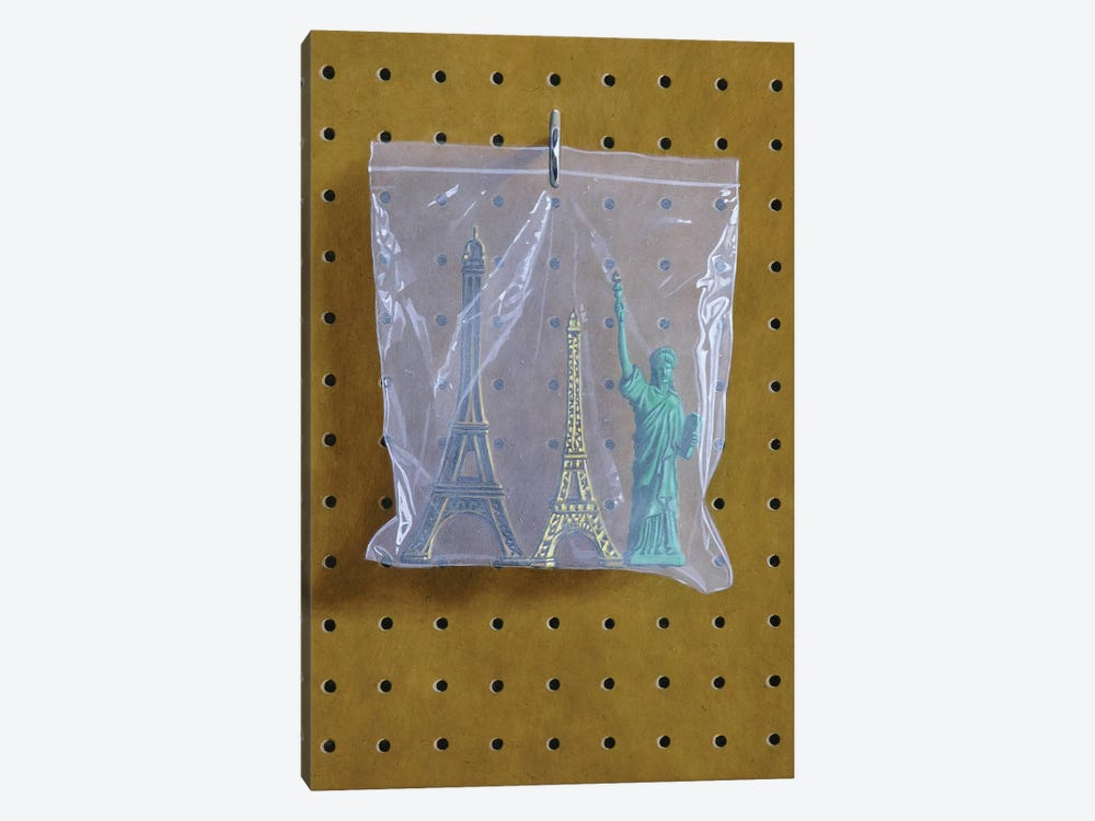 Monument Bag by Simon Monk 1-piece Art Print