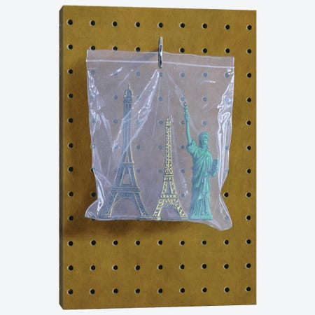 Monument Bag 3-Piece Canvas #SMN25} by Simon Monk Canvas Art Print