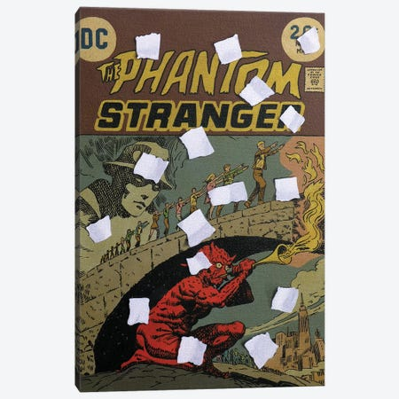 The Phantom Stranger Canvas Print #SMN29} by Simon Monk Canvas Artwork