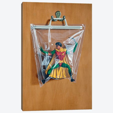 Tim Drake Canvas Print #SMN31} by Simon Monk Art Print