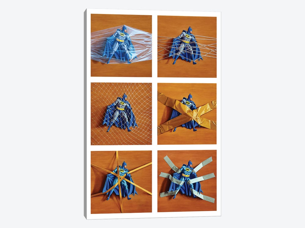 Trapped Batman by Simon Monk 1-piece Art Print
