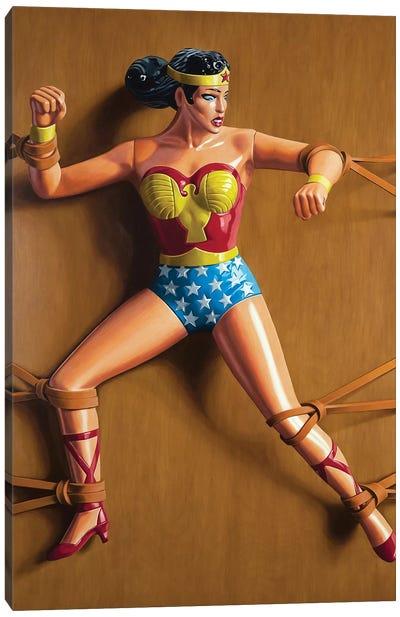 Trapped Wonder Woman Canvas Art Print