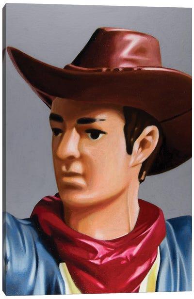 Replicant Study - Cowboy Canvas Art Print