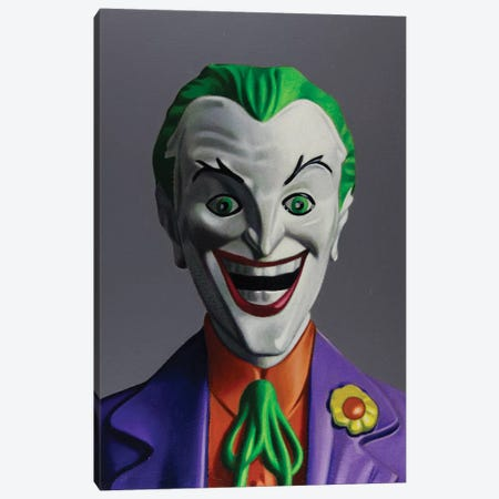 Replicant Study - Joker Canvas Print #SMN45} by Simon Monk Canvas Art Print