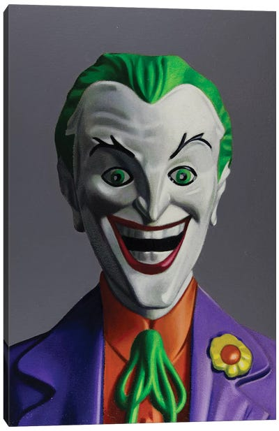 Replicant Study - Joker Canvas Art Print
