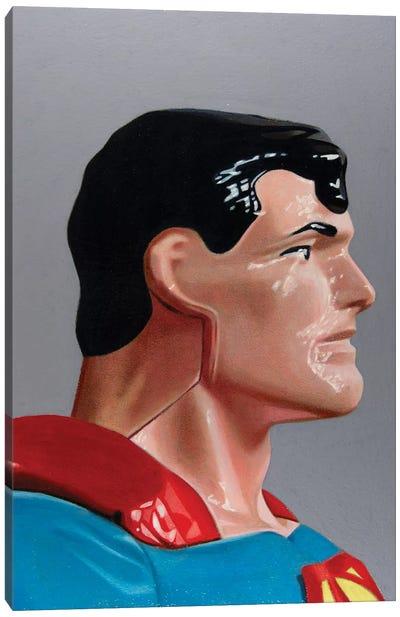 Replicant Study - Superman Canvas Art Print