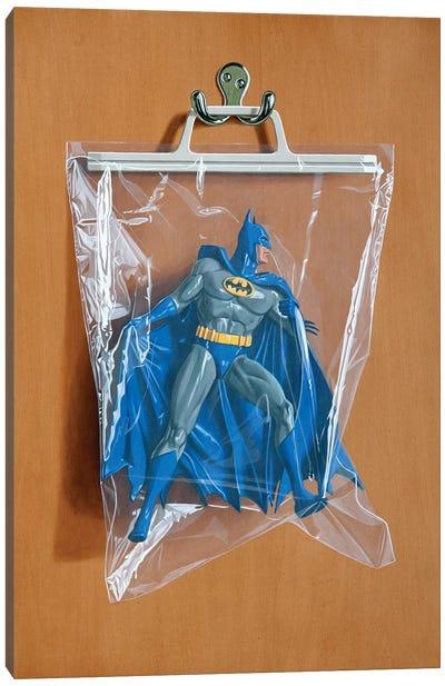 Bruce Wayne Canvas Art Print