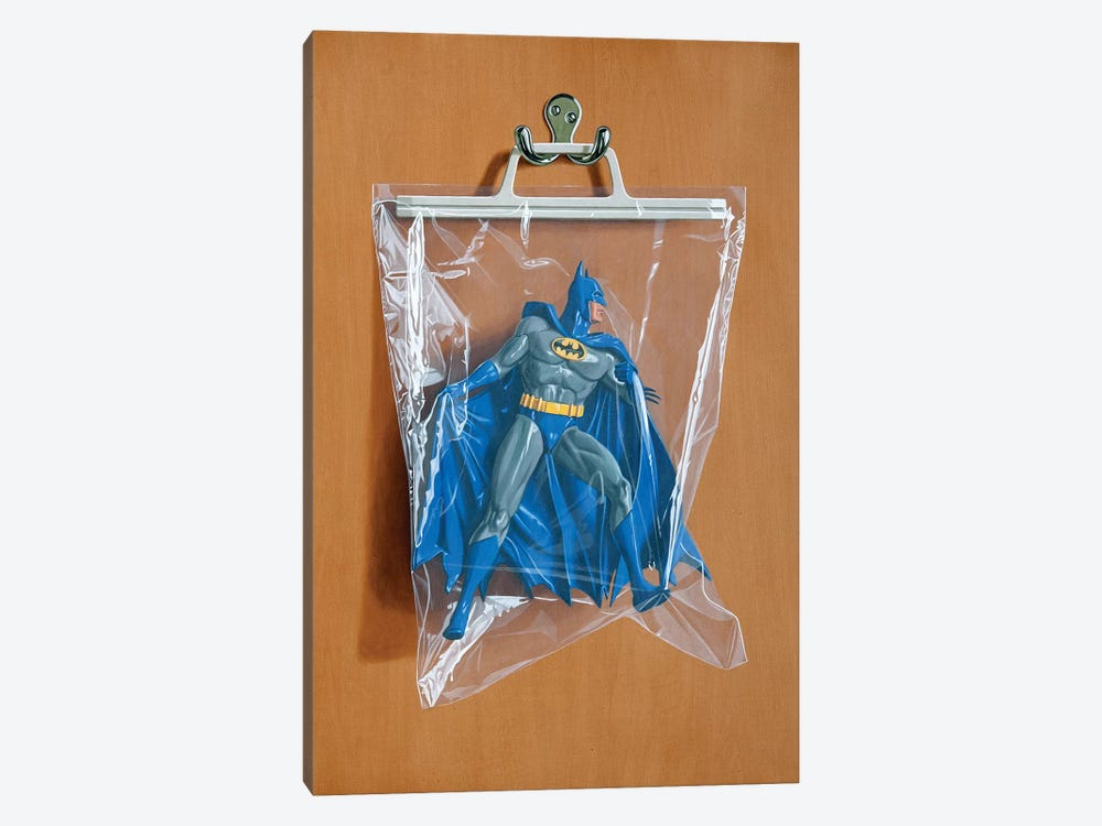 Bruce Wayne by Simon Monk 1-piece Canvas Artwork