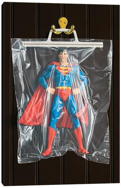Clark Kent (Dark Background) Canvas Art Print