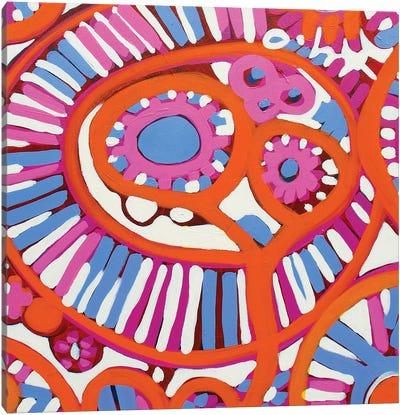 I Love Candy I Canvas Art Print