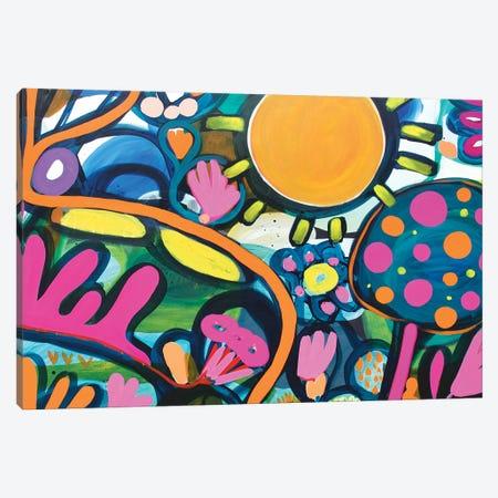Night Garden II Canvas Print #SMR20} by Sarah Morrow Canvas Art