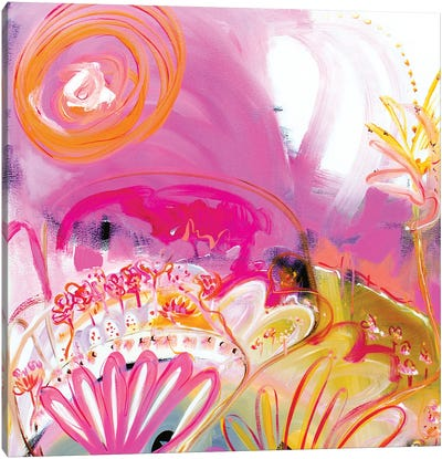Pink Fantasy Canvas Art Print